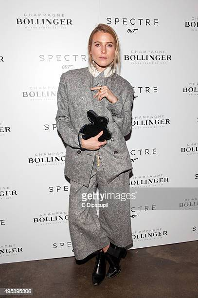 Dree Hemingway attends the 'Spectre' prerelease screening hosted by Champagne Bollinger and The Cinema Society at IFC Center on November 5 2015 in...