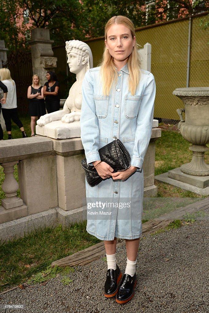 Dree Hemingway attends the Stella McCartney Spring 2016 Resort Presentation on June 8 2015 in New York City