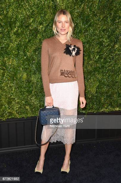 Dree Hemmingway attends the CHANEL Tribeca Film Festival Artists Dinner at Balthazar on April 24 2017 in New York City