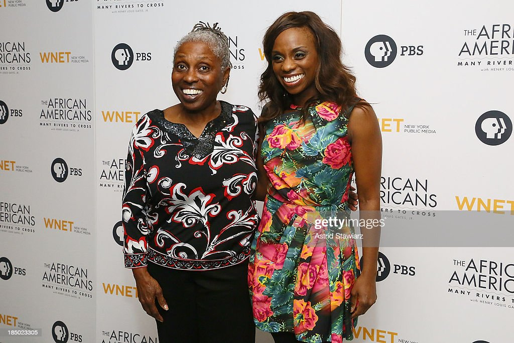 Dreena Dixon and Delaina Dixon attend 'The African Americans: Many Rivers to Cross' New York Series Premiere at the Paris Theater on October 16, 2013 in New York City.