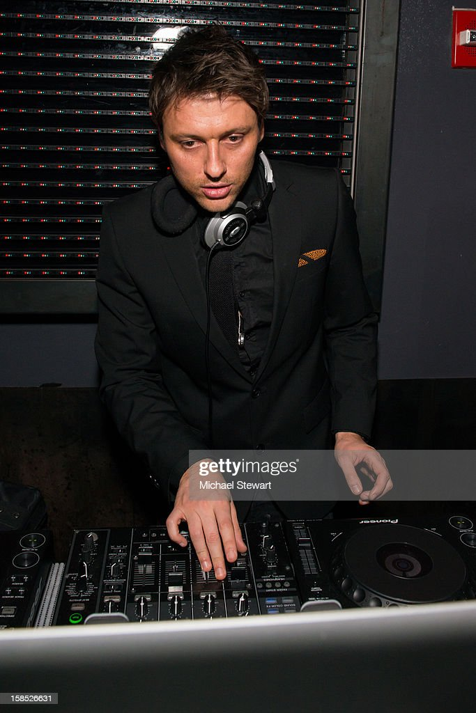 DJ Drek Martinez attends Celebrate Your Status 2012 by the Happy Hearts Fund at Gansevoort Park Hotel on December 17, 2012 in New York City.