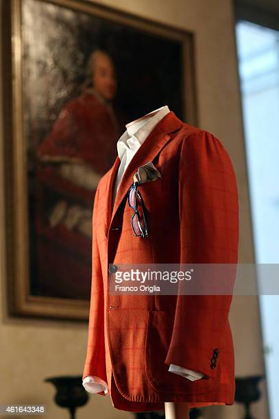 Dress by Italian costume designer Daniela Ciancio worn by Tony Servillo in the movie 'The Great Beauty' by Paolo Sorrentino is shown during the 'I...