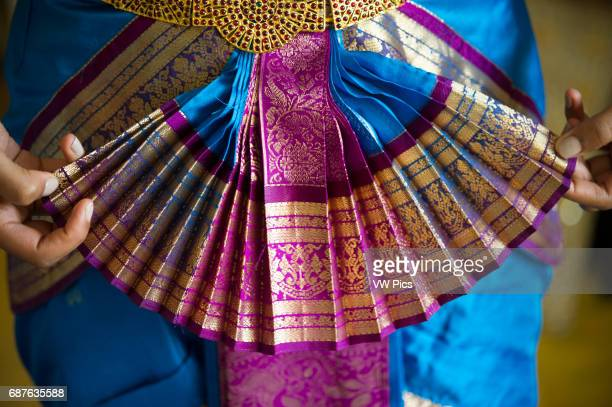 Dress detail on costume for Indian Dance