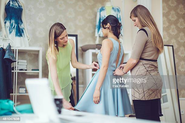 ドレスのフィット