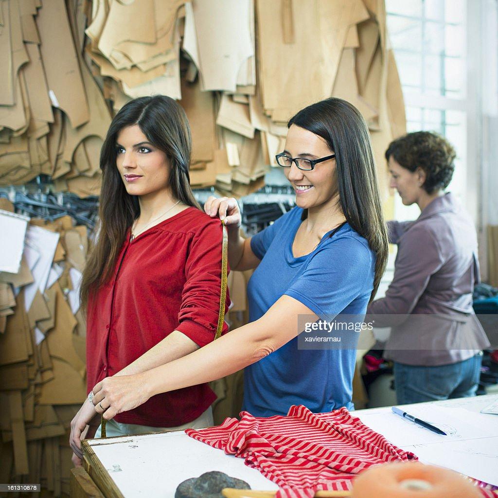 Dress Measuring : Stock Photo