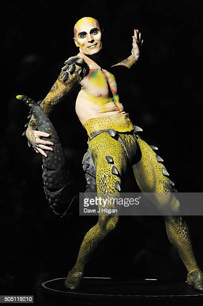 Dress Rehearsal Of Amaluna By Cirque Du Soleil at Royal Albert Hall on January 15 2016 in London England
