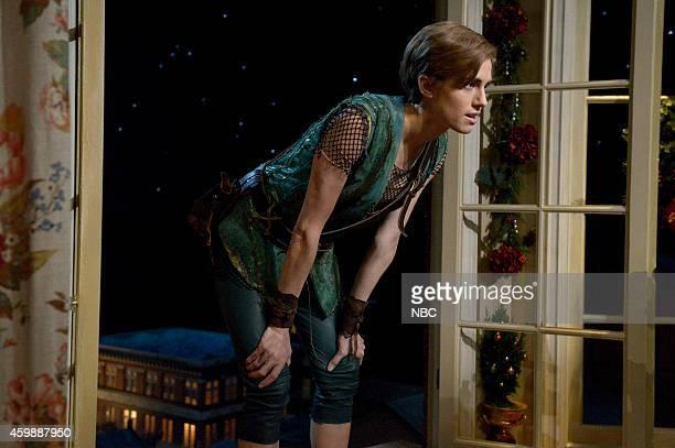 Allison Williams as Peter Pan