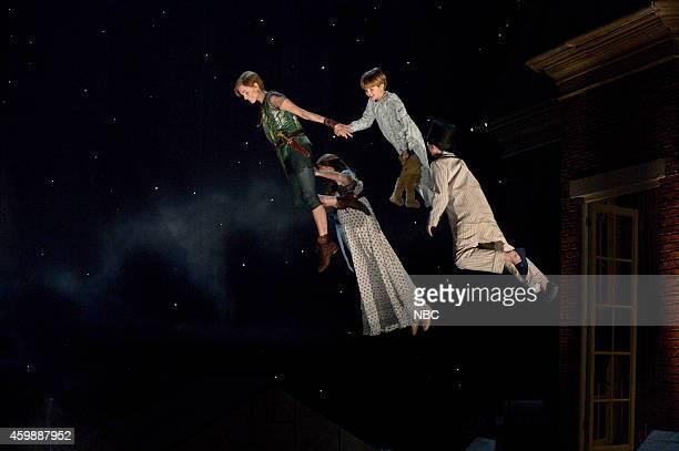Allison Williams as Peter Pan Taylor Louderman as Wendy Darling John Allyn as Michael Darling Jake Lucas as John Darling