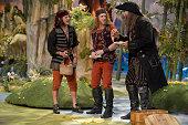Austin Lesch as Bill Jukes Christian Borle as Smee Chris Sullivan as Noodler