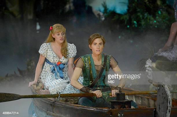 Taylor Louderman as Wendy Darling Allison Williams as Peter Pan