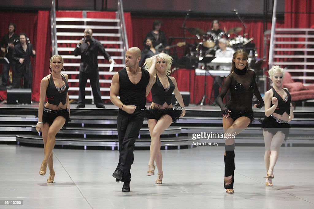 TOUR -- Dress rehearsals for the 'Dancing with the Stars Tour' were held on Wednesday, December 13, at The Great Western Forum in Los Angeles, California.