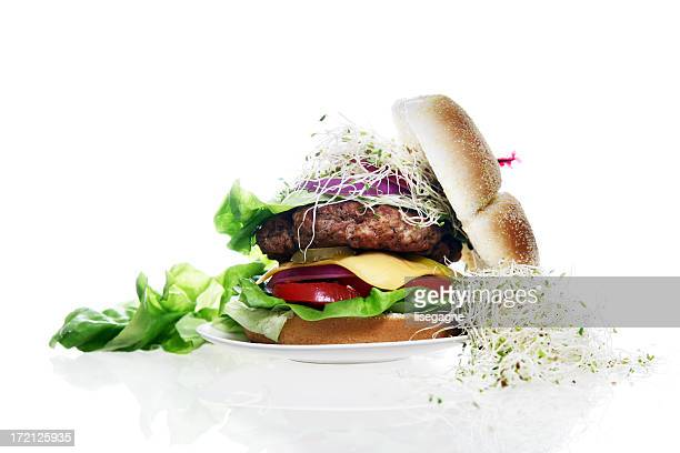 Angezogen Hamburger