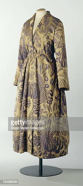Dressing gown by Paul Poiret on display at the Musee de la Mode de la Ville de Paris at the Palais Galliera Paris late 20th Century