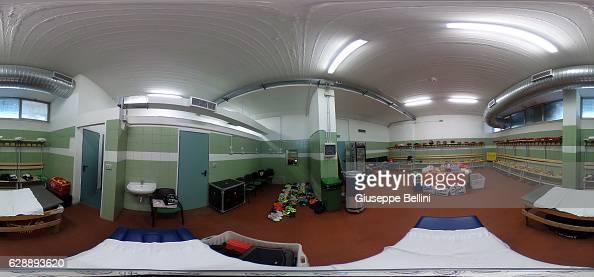 Dressing room of Benevento Calcio prior the Serie B match between US Avellino and Benevento Calcio at Stadio Partenio on December 10 2016 in Avellino...
