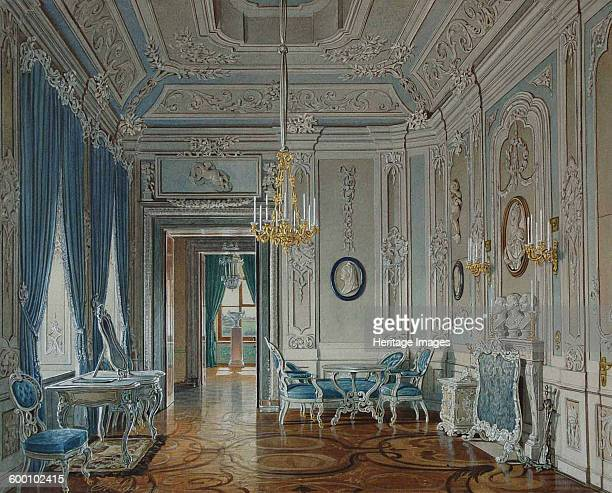 Dressing Room of the Empress Maria Feodorovna at the Gatchina Palace Found in the collection of State Openair Museum Palace Gatchina St Petersburg...