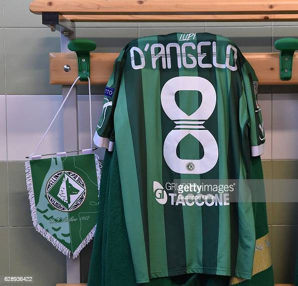 Dressing room of US Avellino prior the Serie B match between US Avellino and Benevento Calcio at Stadio Partenio on December 10 2016 in Avellino Italy