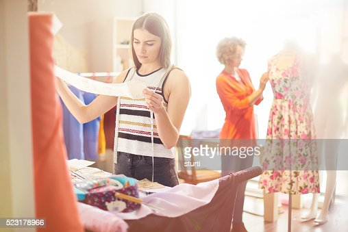 dressmaker student
