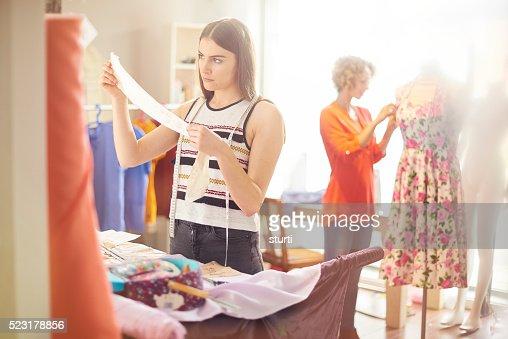 dressmaker student shows ideas