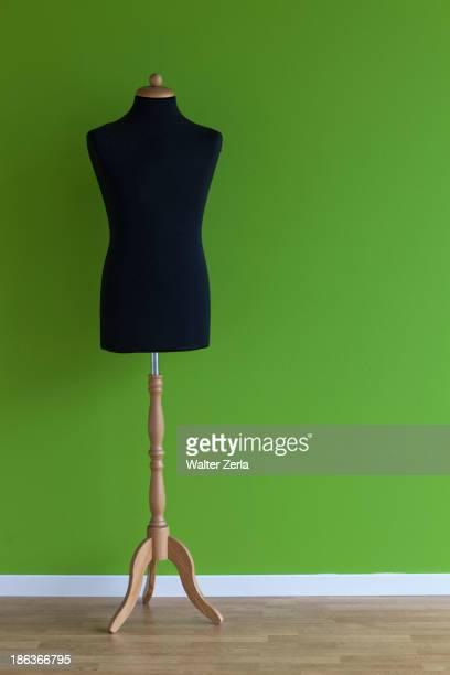Dressmaker's model in studio