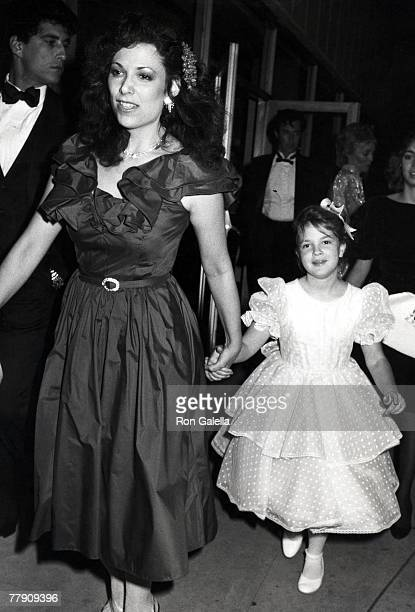 Drew Barrymore and Mother Ildiko Jaid