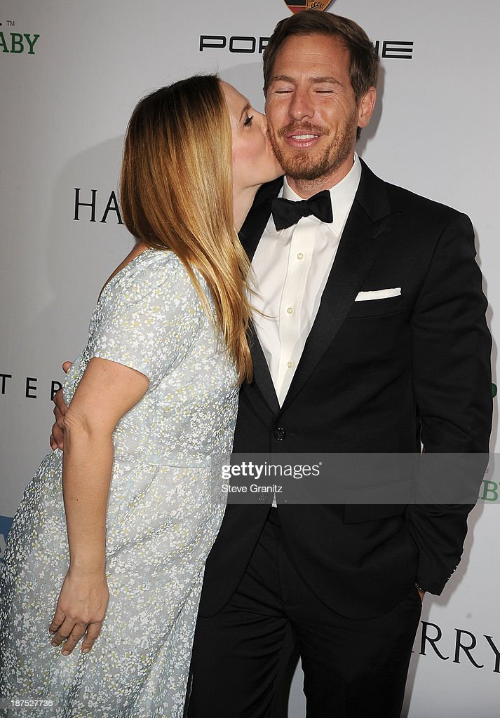 Drew Barrymore and Will Kopelman arrives at the 2nd Annual Baby2Baby Gala at The Book Bindery on November 9, 2013 in Culver City, California.