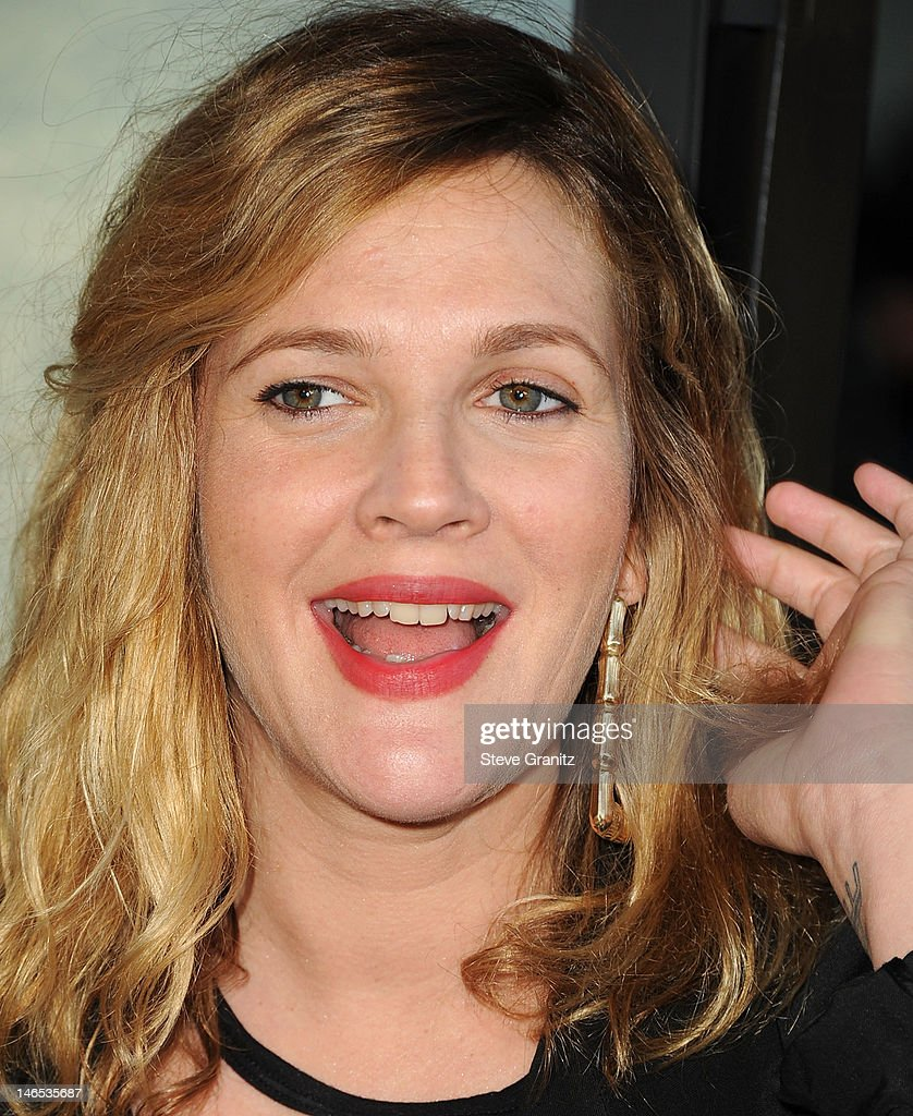 <a gi-track='captionPersonalityLinkClicked' href=/galleries/search?phrase=Drew+Barrymore&family=editorial&specificpeople=201623 ng-click='$event.stopPropagation()'>Drew Barrymore</a> arrives at the 2012 Los Angeles Film Festival - 'Seeking A Friend For The End Of The World' at Regal Cinemas L.A. Live on June 18, 2012 in Los Angeles, California.