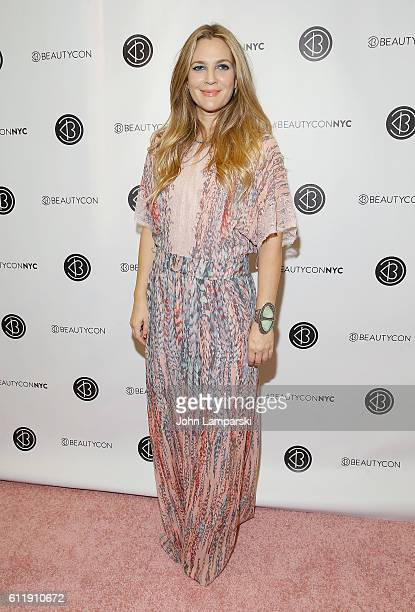 Drew Barrymore attends 2016 Beautycon Festival NYC at Pier 36 on October 1 2016 in New York City