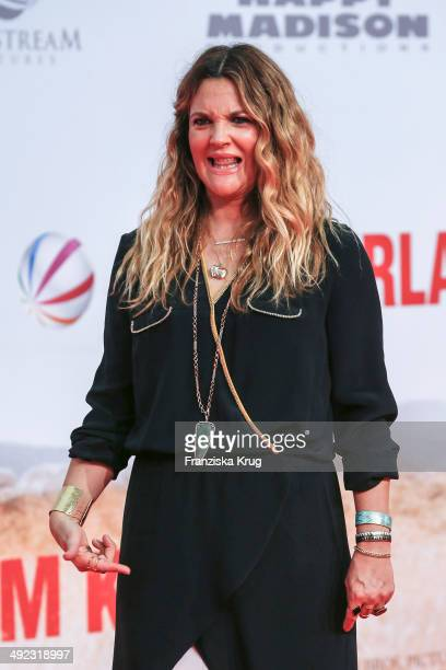 Drew Barrymore attends the 'Blended' Berlin Premiere on May 19 2014 in Berlin Germany
