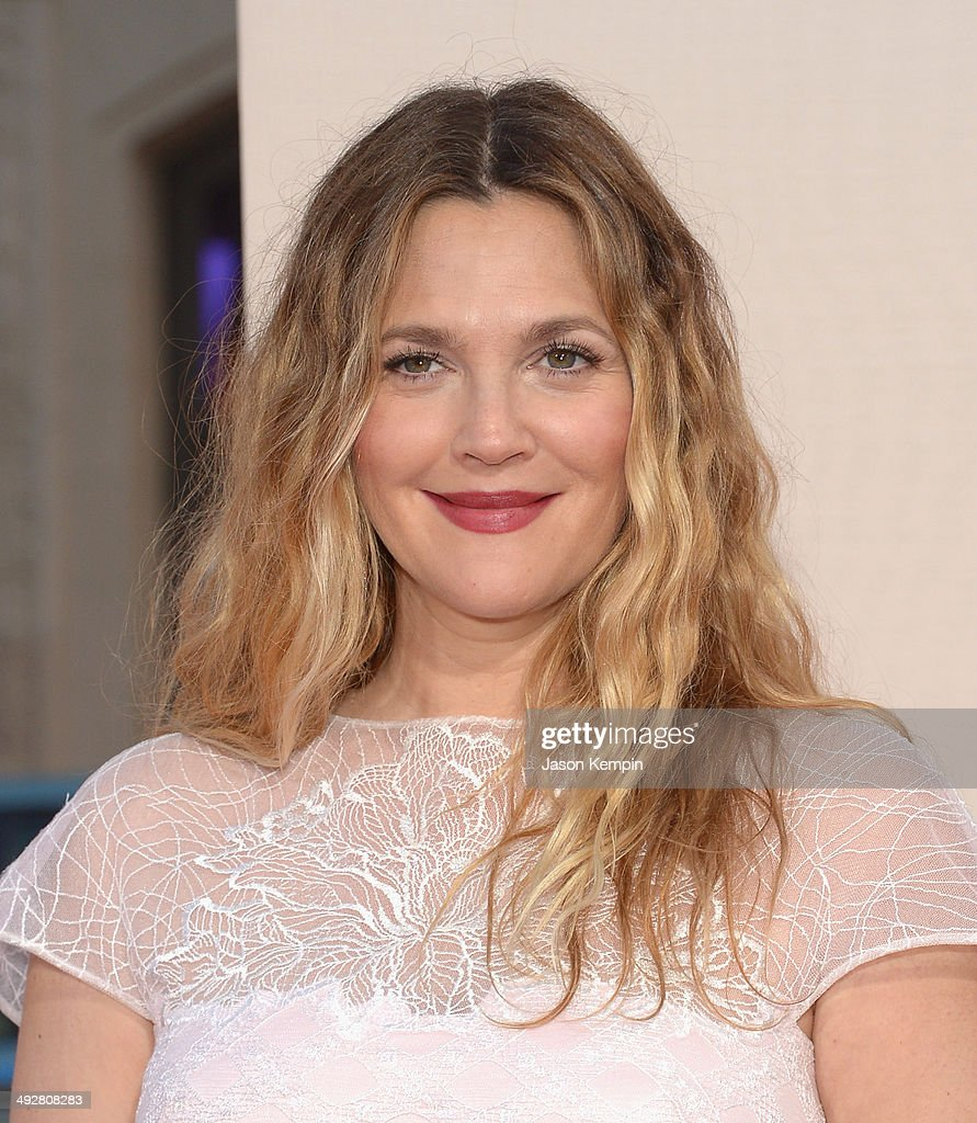 Drew Barrymore attends the 'Blended' premiere at TCL Chinese Theatre on May 21, 2014 in Hollywood, California.