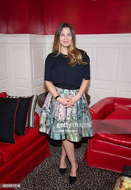 Drew Barrymore attends the Financo CEO Forum 2016 on January 18 2016 in New York City