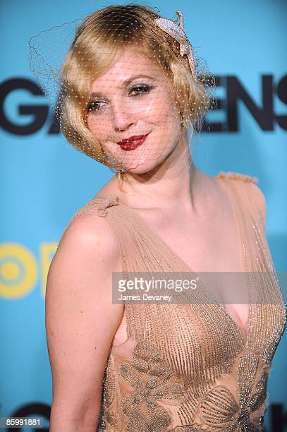 Drew Barrymore attends the premiere of 'Grey Gardens' at the Ziegfeld Theater on April 14 2009 in New York City New York