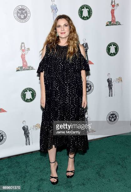 Drew Barrymore attends The Turtle Conservancy's Fourth Annual Turtle Ballat The Bowery Hotel on April 17 2017 in New York City