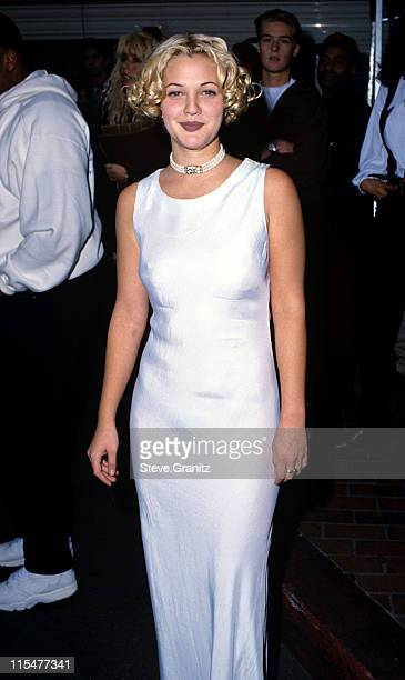 Drew Barrymore during 1993 Billboard Music Awards in Universal City California United States