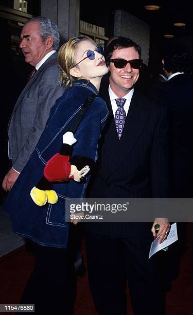 Drew Barrymore during ''Sliver'' Los Angeles Benefit Premiere at Mann's National Theater in Westwood California United States