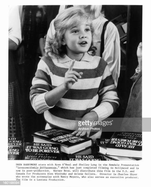Drew Barrymore stars in the film 'Irreconcilale Differences' 1984