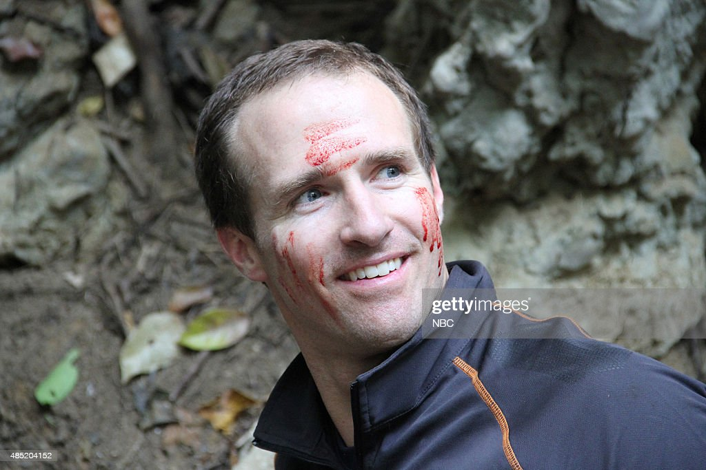 GRYLLS -- '<a gi-track='captionPersonalityLinkClicked' href=/galleries/search?phrase=Drew+Brees&family=editorial&specificpeople=202562 ng-click='$event.stopPropagation()'>Drew Brees</a>' Episode 201 -- Pictured: <a gi-track='captionPersonalityLinkClicked' href=/galleries/search?phrase=Drew+Brees&family=editorial&specificpeople=202562 ng-click='$event.stopPropagation()'>Drew Brees</a> --