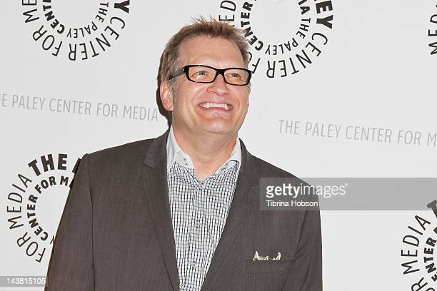 Drew Carey attends the Paley Center for media presents PBS documentary of 'American Masters Johnny Carson King Of Late Night' at The Paley Center for...