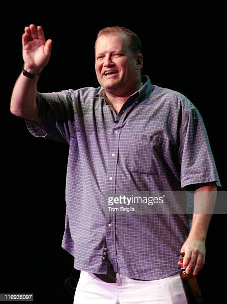 Drew Carey during 'Whose Line Is It Anyway' at Caesars Atlantic City at Caesars Atlantic City in Atlantic City New Jersey United States