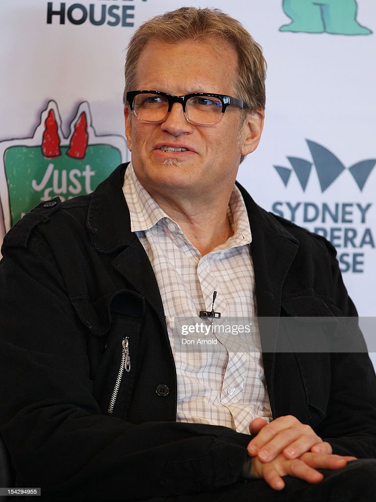 Drew Carey looks on during the 'Just For Laughs' Sydney Media Call at Sydney Opera House on October 18, 2012 in Sydney, Australia.