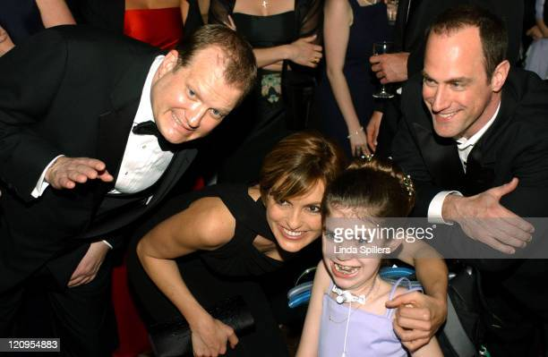 Drew Carey Mariska Hargitay Kailyn Glassmacher 15 of Fairfax VA and Christopher Meloni