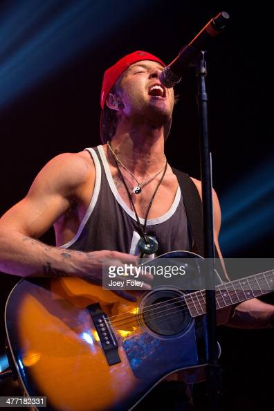 Drew Chadwick of Emblem3 performs live onstage at Egyptian Room at Old National Centre on February 15 2014 in Indianapolis Indiana