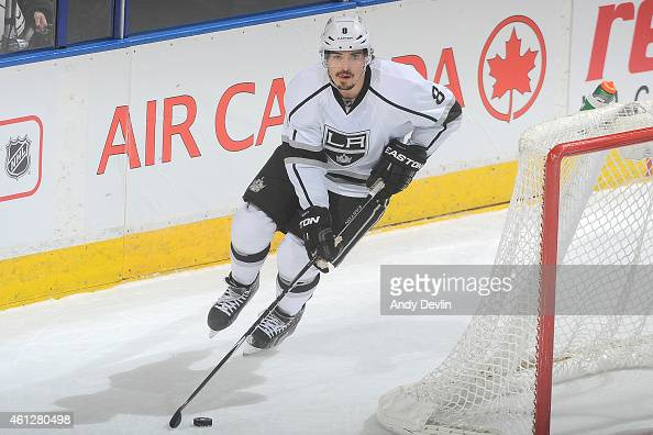 Drew Doughty of the Los Angeles Kings skates on the ice during the game against the Edmonton Oilers on December 30 2014 at Rexall Place in Edmonton...