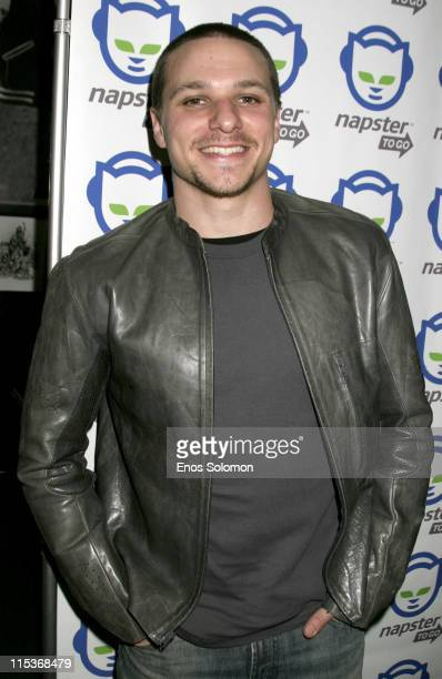 Drew Lachey during Napster To Go Cafe Comes to Los Angeles with Free Digital Music and MP3 Player Giveaways at Mel's DriveIn in West Hollywood...