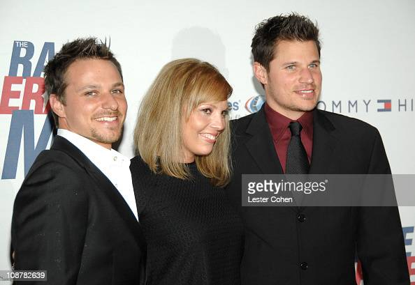 Drew Lachey Lea Lachey and Nick Lachey during 14th Annual Race to Erase MS Themed 'Dance to Erase MS' Red Carpet at Hyatt Regency Century Plaza in...
