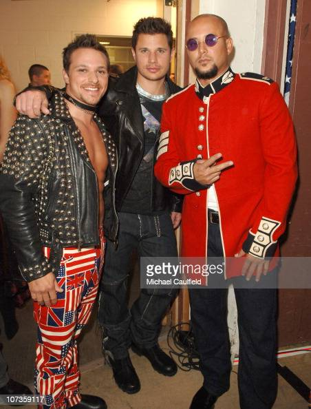Drew Lachey Nick Lachey and Cris Judd *EXCLUSIVE*