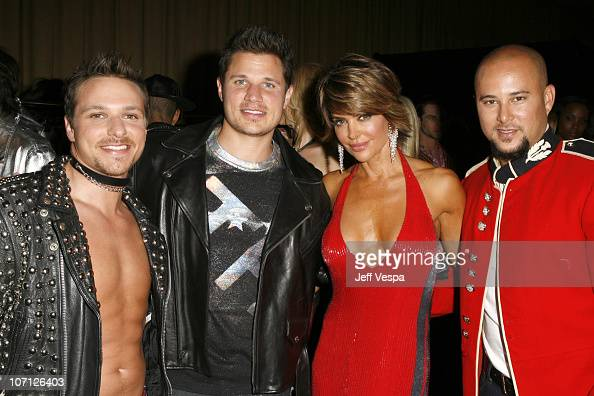 Drew Lachey Nick Lachey Lisa Rinna and Cris Judd *EXCLUSIVE*