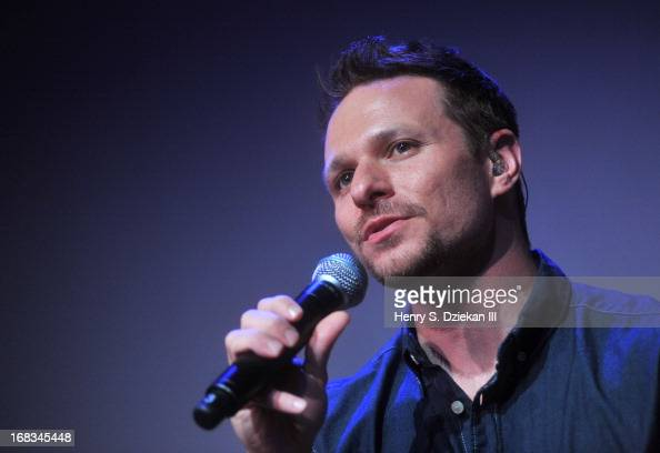 Drew Lachey of 98 Degrees performs at Meet the Musicians at the Apple Store Soho on May 8 2013 in New York City
