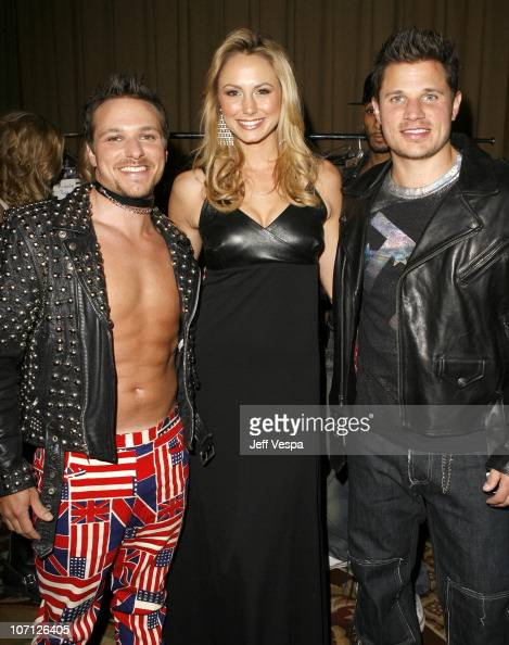 Drew Lachey Stacy Keibler and Nick Lachey *EXCLUSIVE*