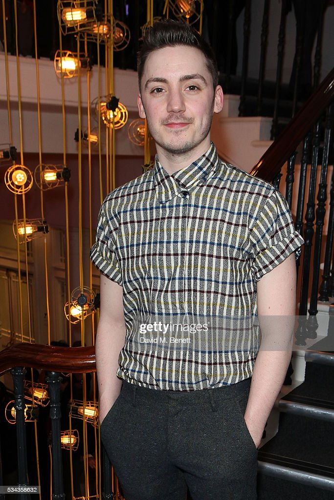 Drew Mconie attends the press night after party for 'Jekyll Hyde' at The Old Vic Theatre on May 25 2016 in London England