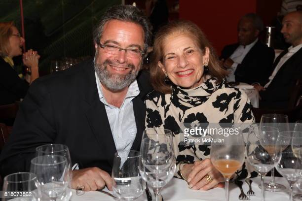 Drew Nieporent and Penny Trenk attend Epicurious 15th Anniversary Dinner at Eataly on September 29 2010 in New York